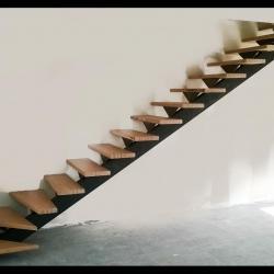 Limon d'escalier en acier