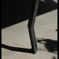 Table acier et bois